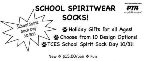 Sock Spiritwear Flyer